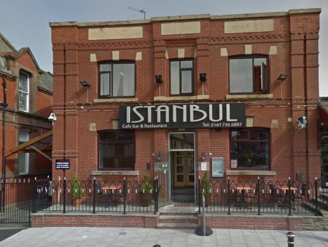 AGREED: Istanbul restaurant in Bury New Road, Prestwich. Photo: Google Maps