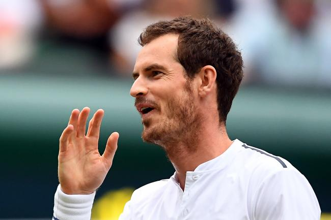 Andy Murray returned to singles action in Cincinnati