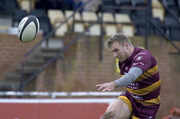 POINTS SCORER: Oli Glasse kicked seven conversions for Sedgley Tigers to add to his two tries against Scunthorpe. Picture by Steve M Smith (www.svp1.uk)