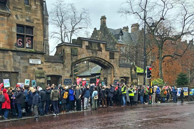 University and College Union strike
