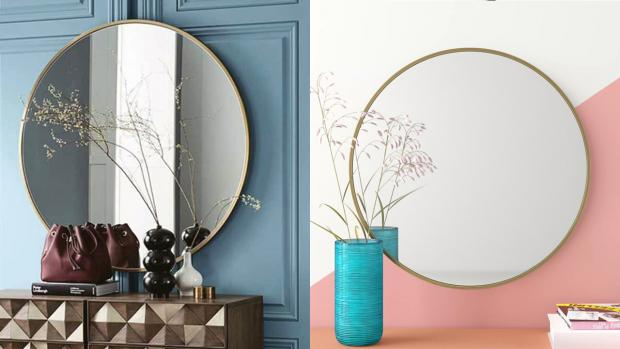 Prestwich and Whitefield Guide: A bigger, more modern mirror will create the illusion of more space. Credit: Wayfair