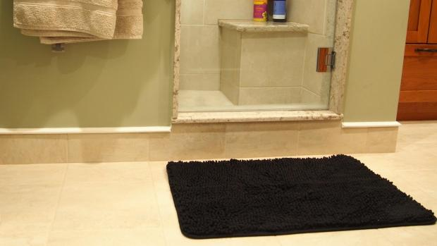 Prestwich and Whitefield Guide: A stylish bath mat can brighten up your space. Credit: Reviewed / Kori Perten
