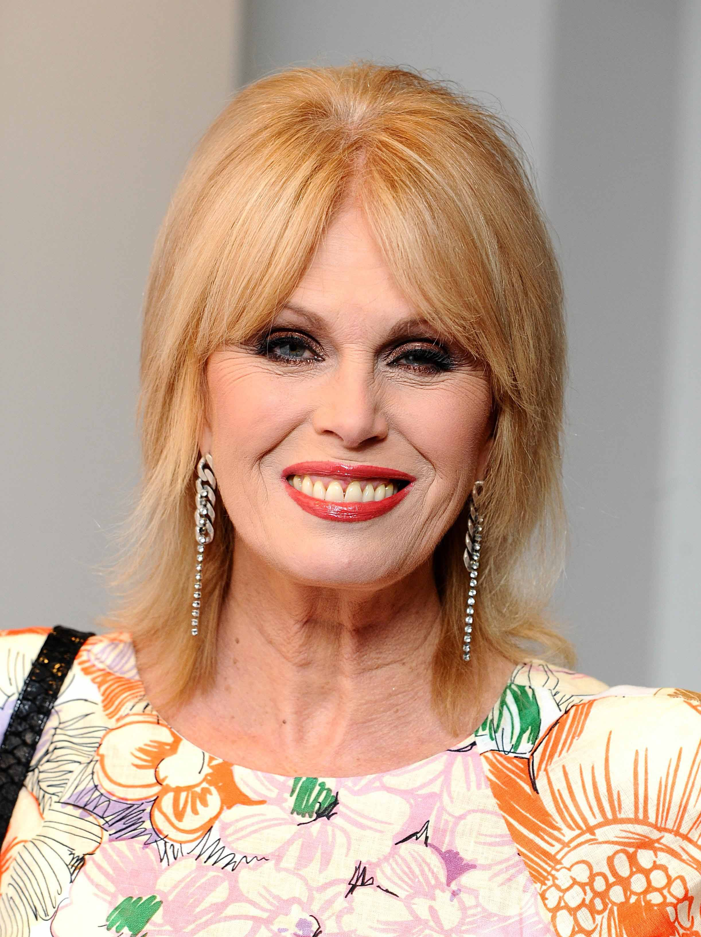 Actress Joanna Lumley, who is supporting the campaign