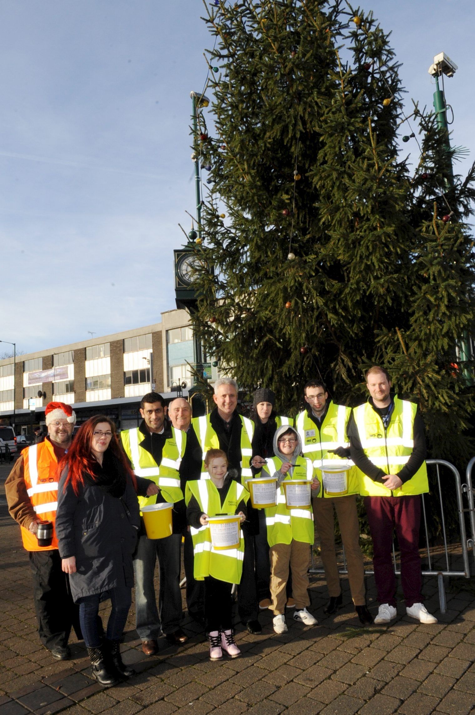 Tree-mendous effort: Heart-warming community victory as lights sparkle in Radcliffe