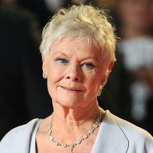 Prestwich and Whitefield Guide: Dame Judi Dench suffers from macular degeneration, an age-related condition that leads to the gradual loss of vision