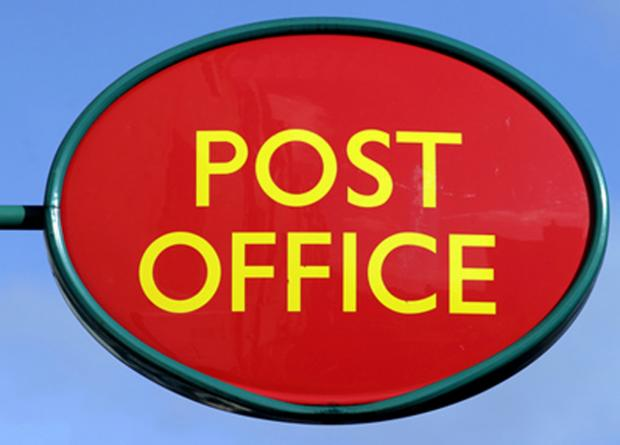 Thief stole charity box from post office