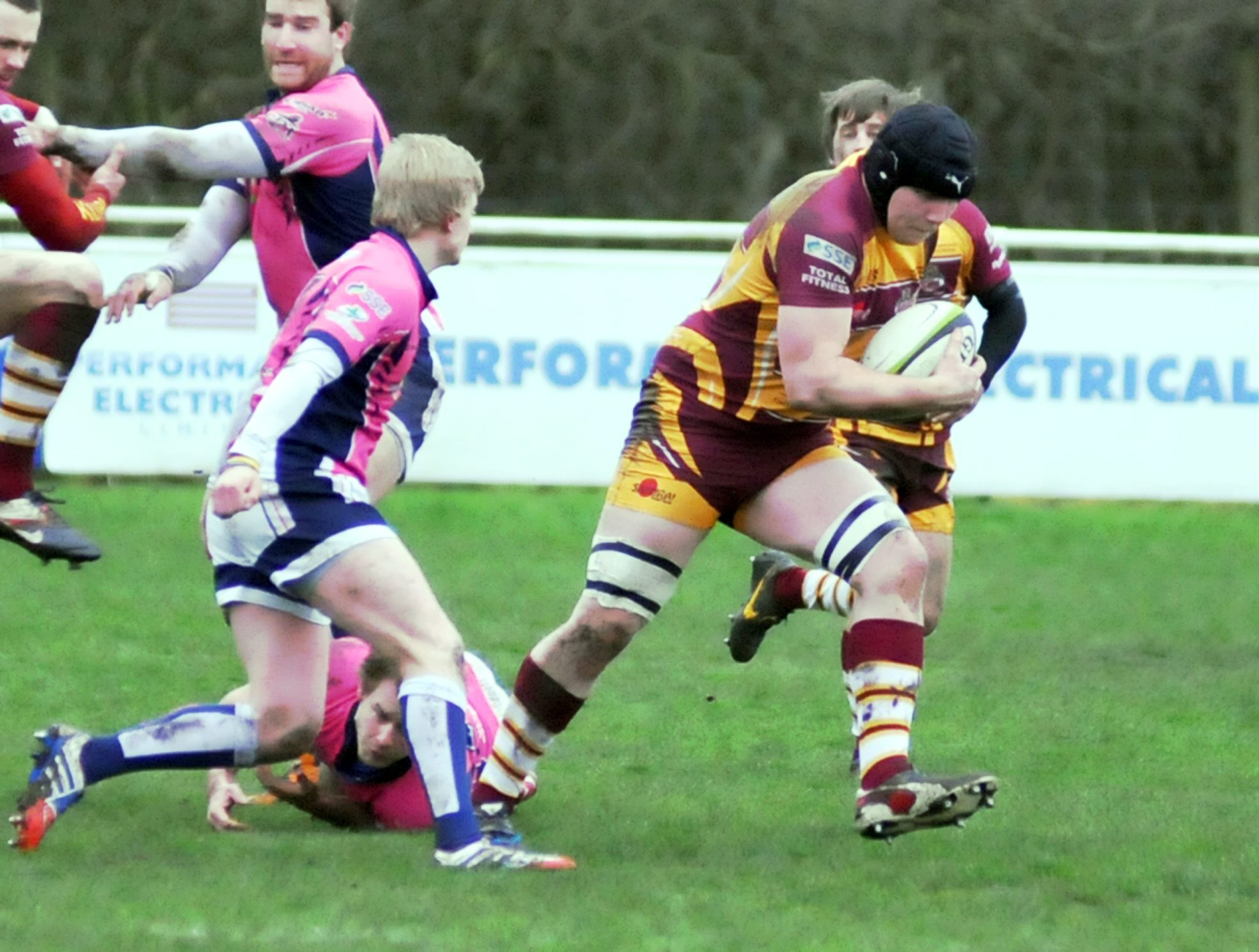 Sedgley's Matt Lamprey scored two tries at Bromsgrove