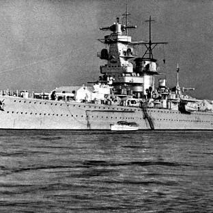 Prestwich and Whitefield Guide: The German pocket battleship, Admiral Graf Spee, which fought an epic sea battle with the British Cruisers Exeter, Ajax and Achilles, at the mouth of the River Plate