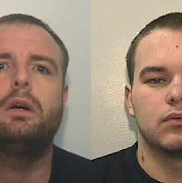 Prestwich and Whitefield Guide: Stevie McMullen, 31 (left) and Ryan MacDonald, 20, (right).