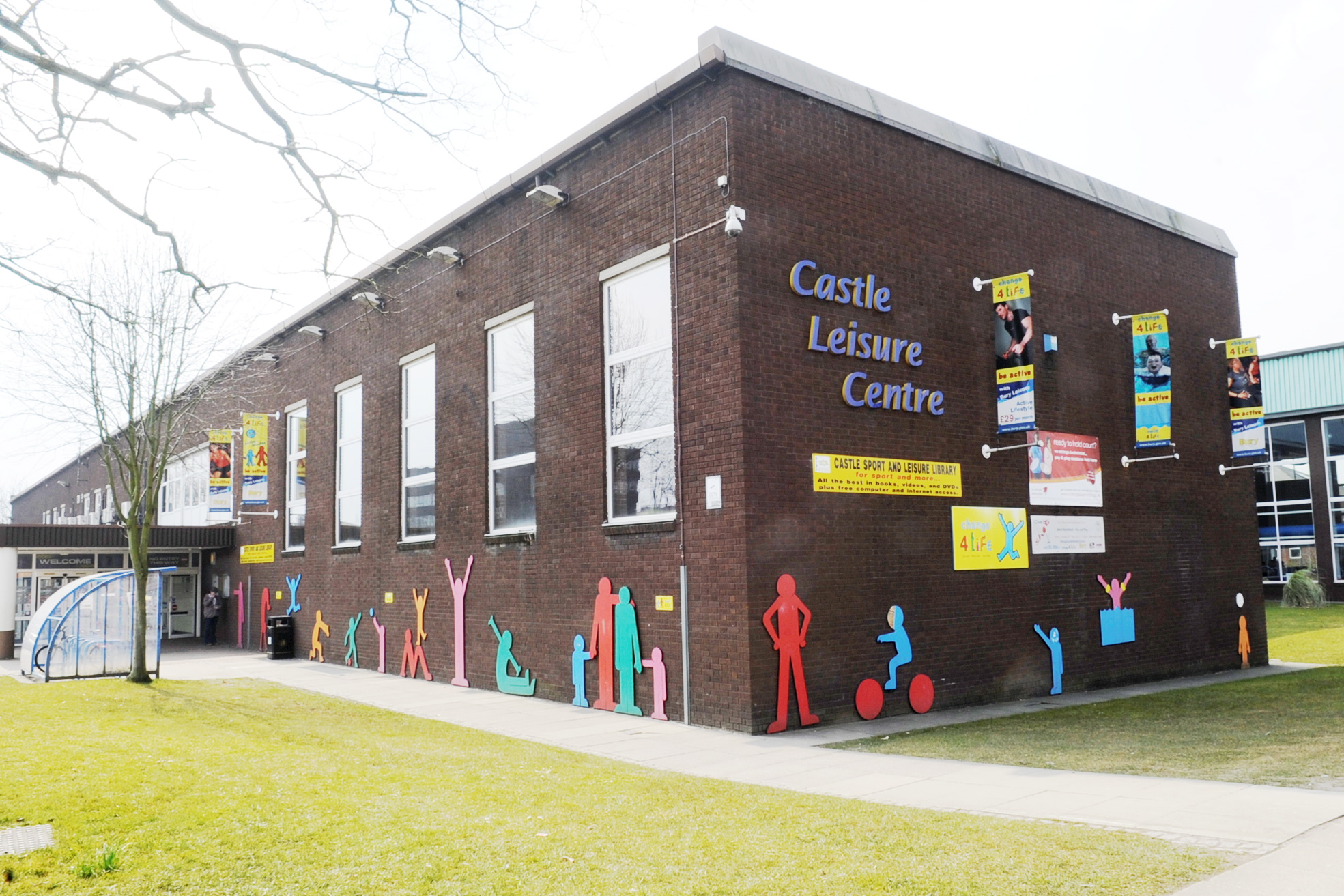 Castle Leisure Centre where Bury Sub Aqua Club is based