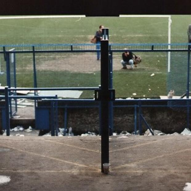 Prestwich and Whitefield Guide: The terraces at the Hillsborough football ground
