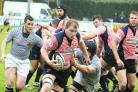 Sedgley Tigers' Matt Lamprey in action for Lancashire against Cheshire