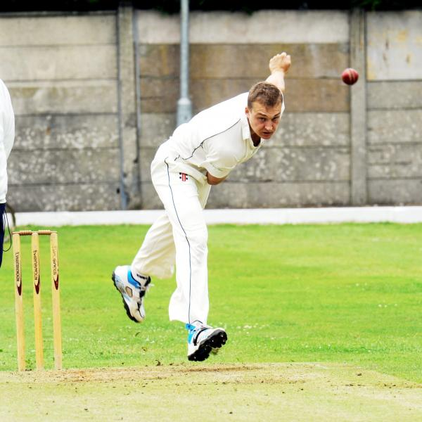 Sam Holden took the first two wickets in a fine Prestwich win