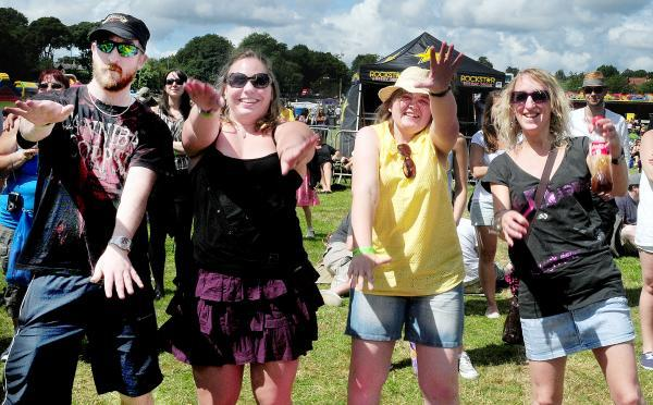 Revellers get into the party spirit at Festwich
