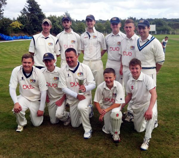 The victorious Prestwich 3rd XI