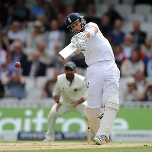 Joe Root, pictured, is right behind the continuing presence of Alastair Cook