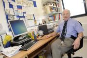Dr Neil Joseph of Moorgate Primary Care Centre who is to retire. Images by Steve Holt, Bury Times, Wednesday February 25 2015. (19377631)