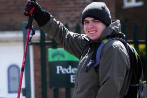 Kindhearted student set to head into the great outdoors