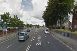 Woman, 71, suffers serious foot injury after being hit by van