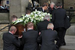 Family, friends and well-wishers turn out to pay respects to Neville Neville