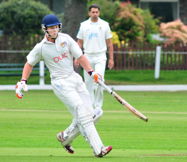 Prestwich's James Wharmby is among the Premier League leaders with the bat and keeper's gloves