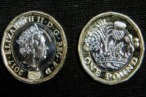 New £1 coin Ben Birchall/PA Photos
