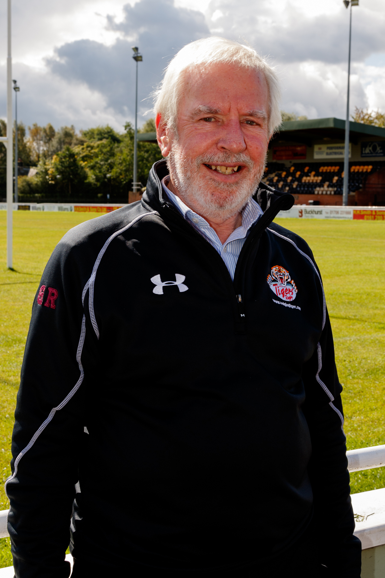 POSITIVE: Sedgley Park general manager Geoff Roberts