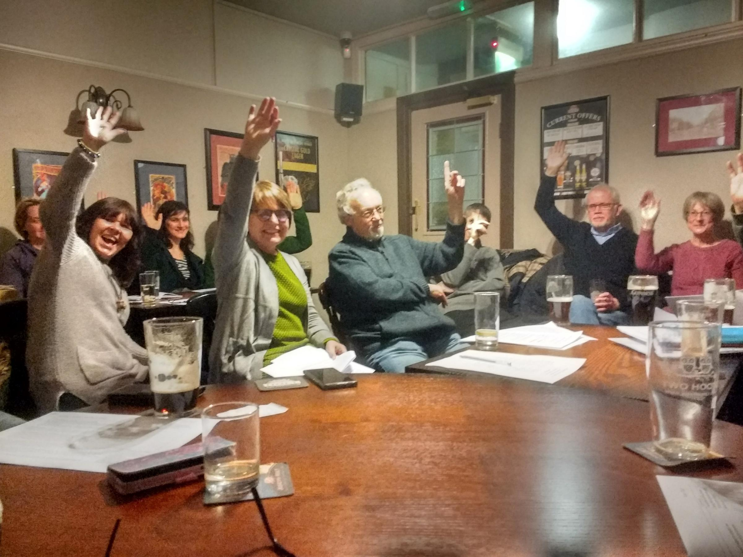 The Incredible Edible Prestwich board votes to change the group into a community benefit society