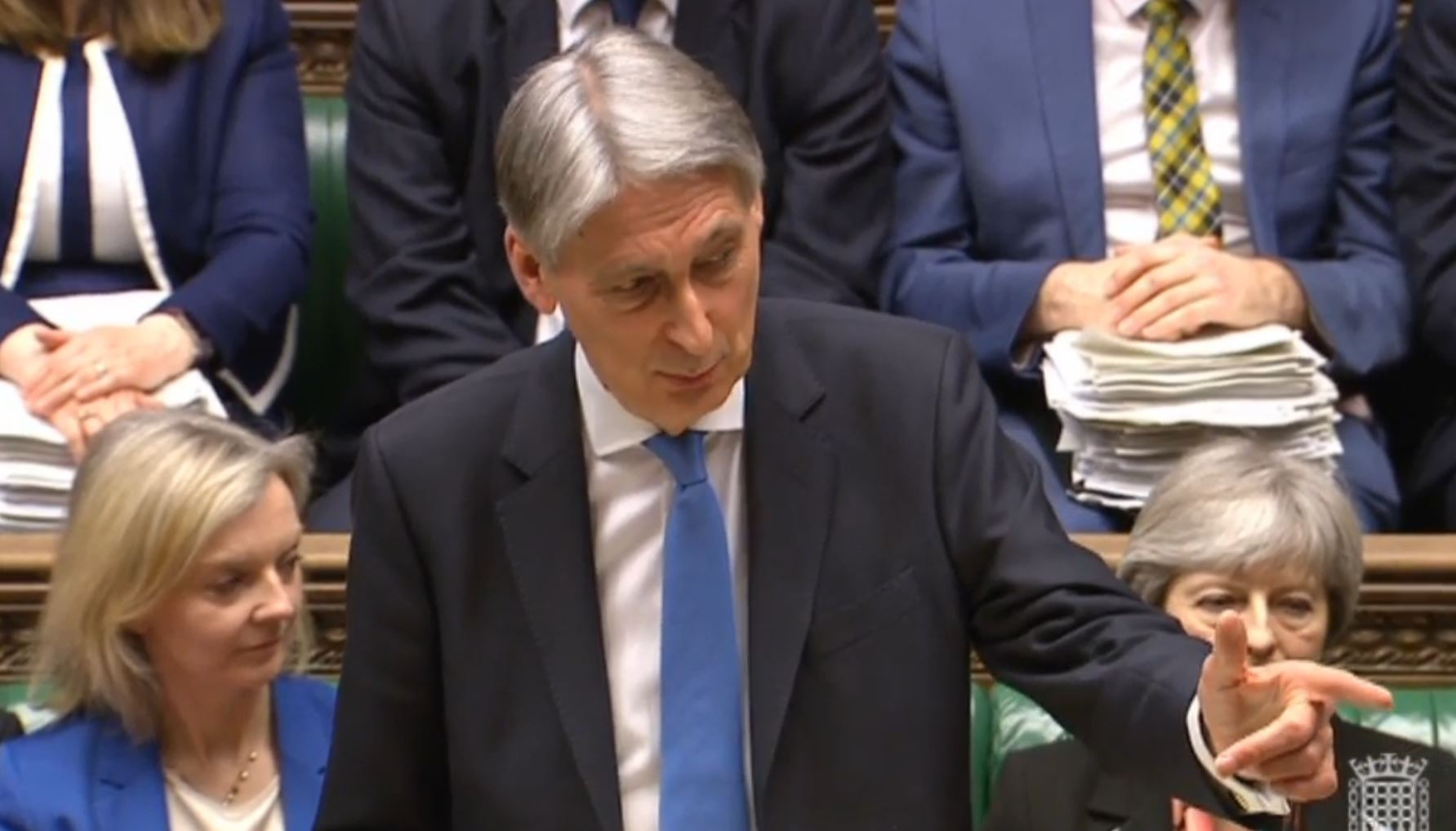 Chancellor of the Exchequer Philip Hammond delivers his Spring Statement in the House of Commons. Picture: PA