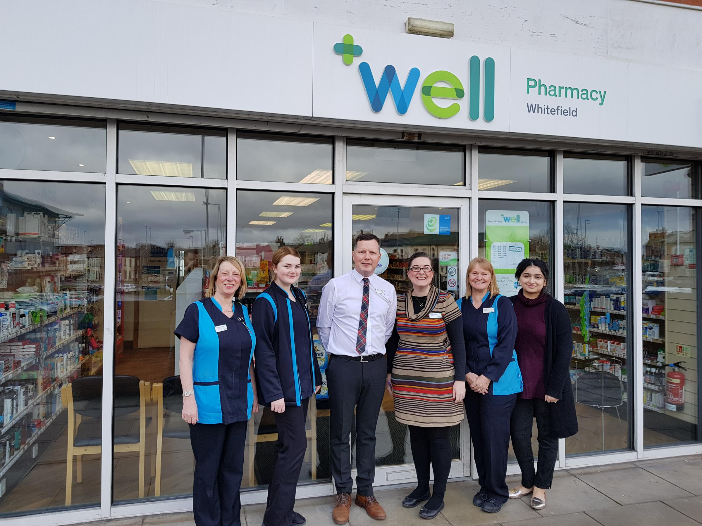 The Whitefield Well Pharmacy team