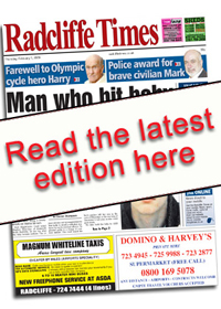 Prestwich and Whitefield Guide: Radcliffe Times E Edition Front Cover