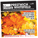 Prestwich and Whitefield Guide: sept cover 2018