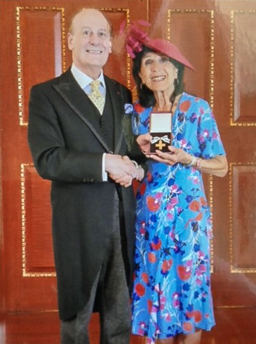 Lord Lingfield and Roz Harris
