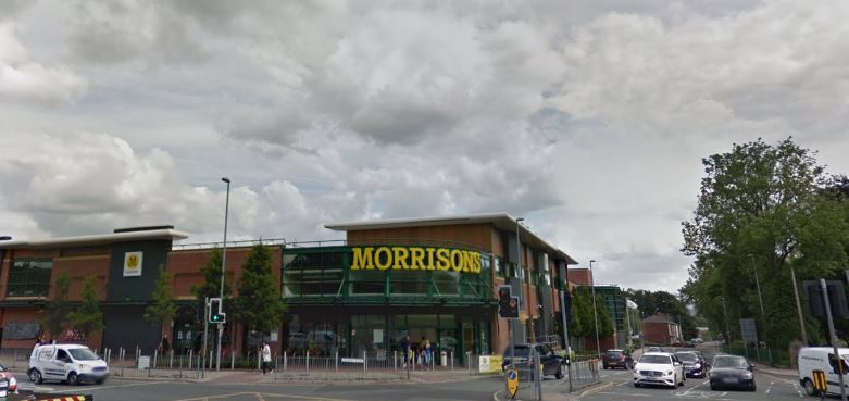 Morrisons, Whitefield. Picture: Google Maps