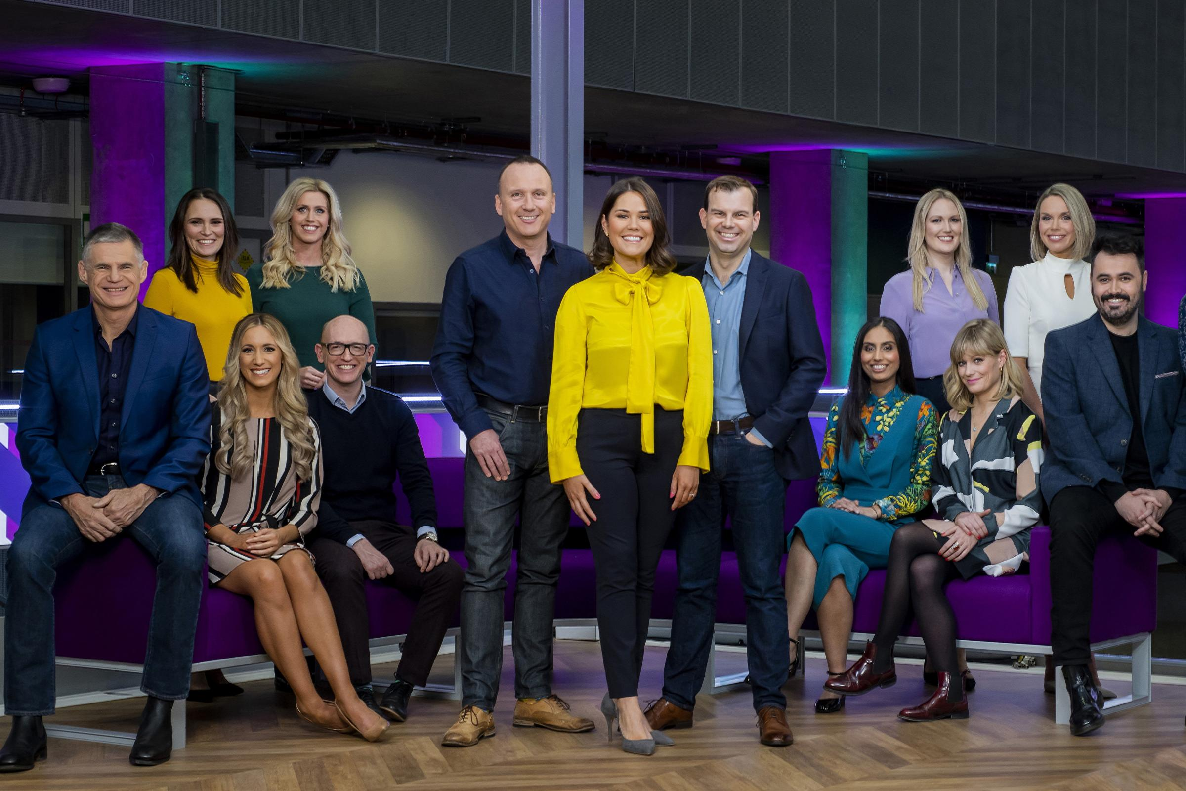 BBC Scotland's The Nine team