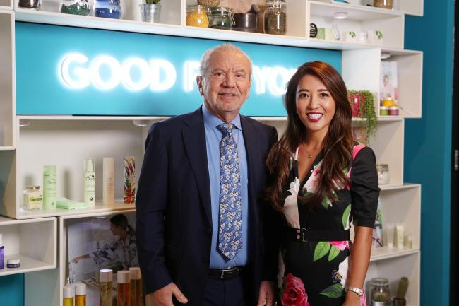 Lord Sugar unveils Tropic Skincare's new Croydon headquarters with founder Susie Ma after a £4 million investment