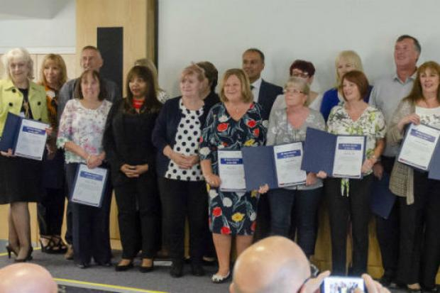 Northern Care Alliance staff honoured for long service
